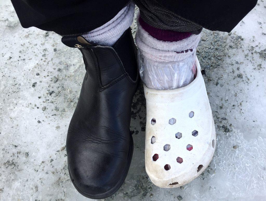 foppatoffel och sko