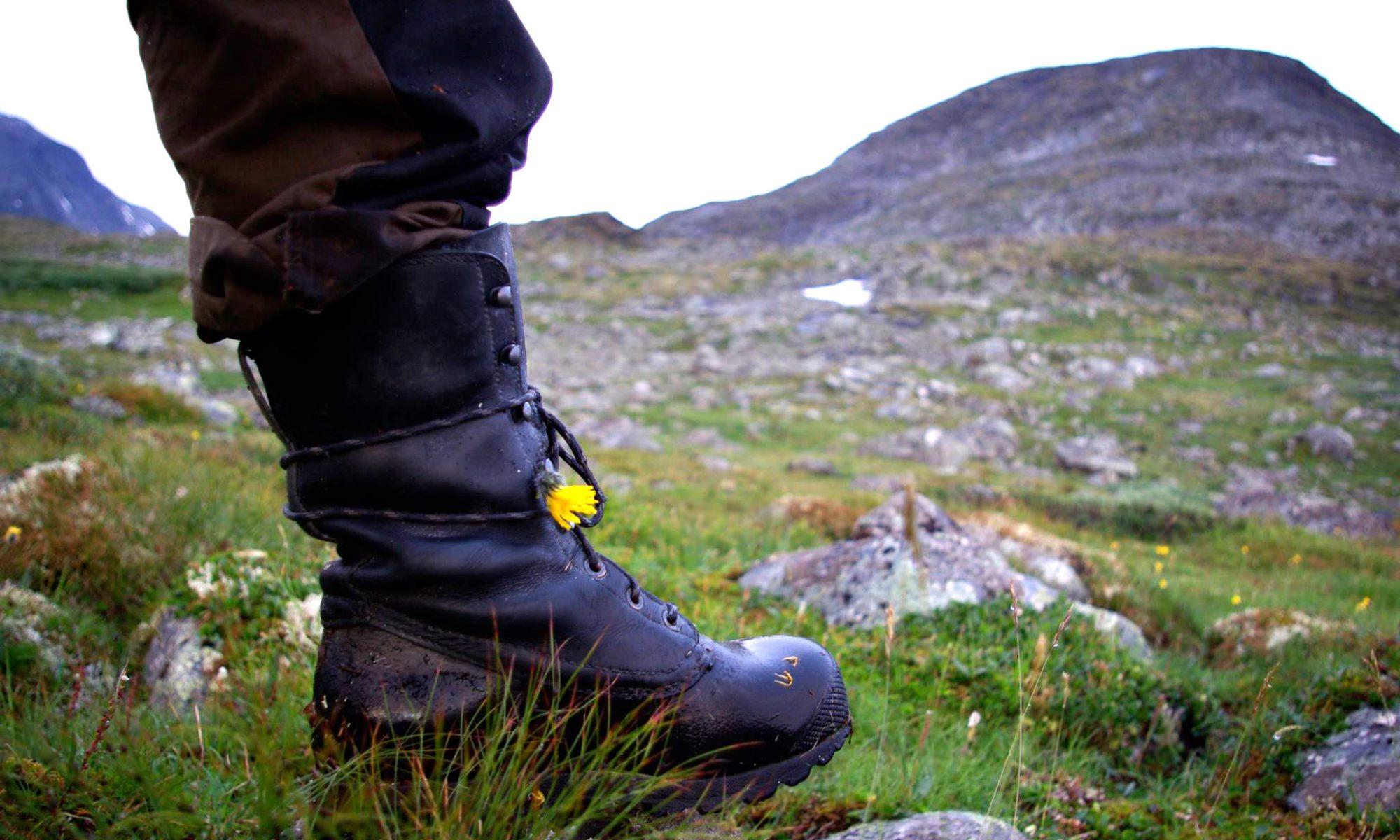 vandringskängor för känsliga fötter